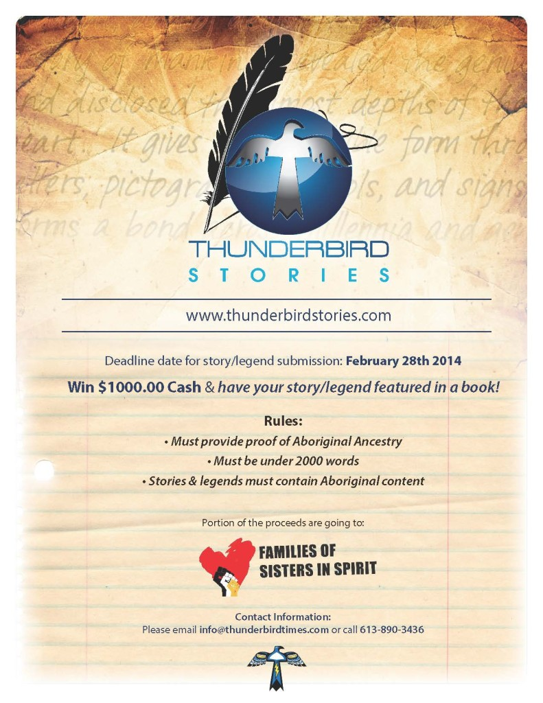 Thunderbird Stories Poster
