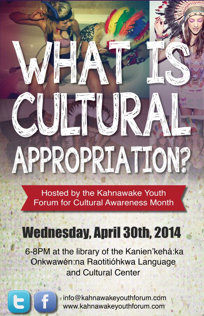 What is Cultural Appropriation? KYF Event