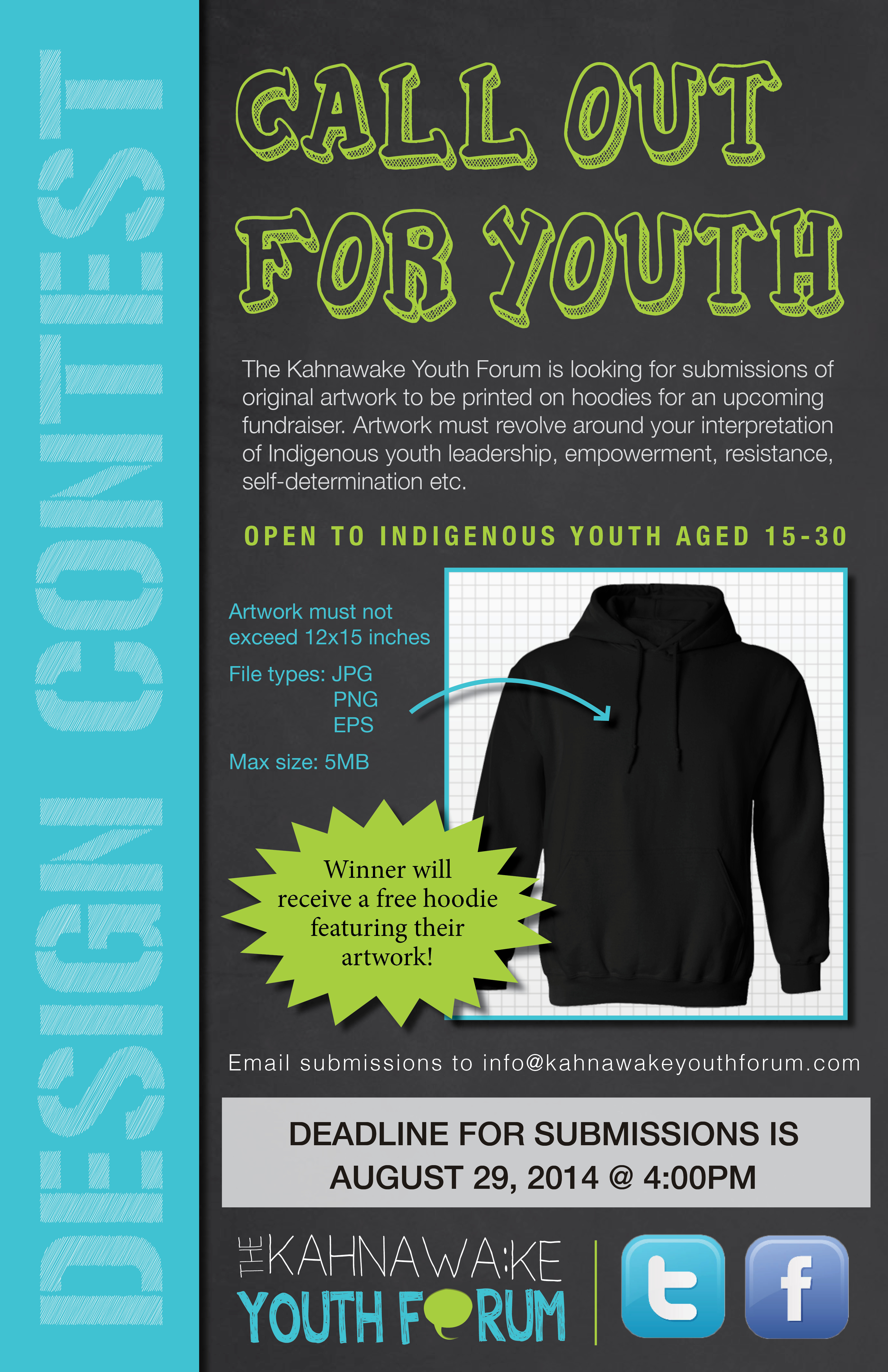 Design Contest: Call out for youth